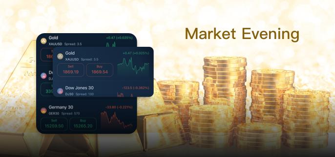 【Market Evening】'Shaky' gold holds tight range, Dollar steady, Oil gains